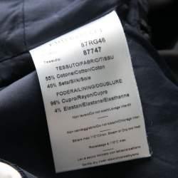 Emilio Pucci Geometric Printed Satin Pocket Detail Shift Dress S
