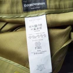 Emporio Armani Green Paneled Trousers M