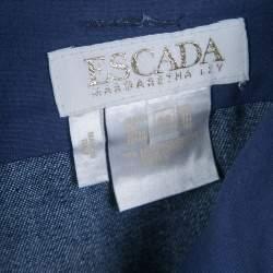 Escada Indigo Dark Wash Denim High Waist Jeans M