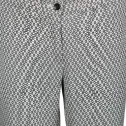 Etro Monochrome Jacquard Cropped Pants M