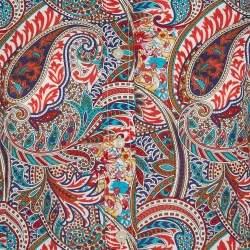Etro Multicolor Cotton Paisley Print Full Sleeve Shirt L