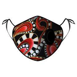 Fine Guard By Caroline Reusable N95 Face Mask, Flamenco Style - Medium (Available for UAE Customers Only)