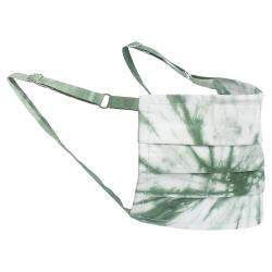 Non-Medical Handmade Green Tie Dye Face Mask By Mr. Moudz Collection (Available for UAE Customers Only)