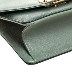 Faure Le Page Two Tone Leather Parade 19 Top Handle Bag
