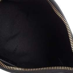 Fendi Black Leather Mini Pouch Crossbody Bag