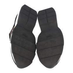Fendi Black Low Knit Sneakers Size 40