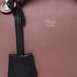 Fendi Antique Rose/Beige Leather Mini By The Way Crossbody Bag