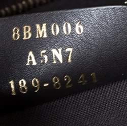 Fendi Brown Zucca Coated Canvas Spalmati Mania Belt Bag
