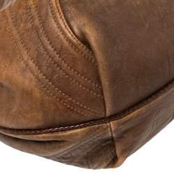 Fendi Brown Leather Spy Bag