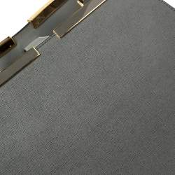 Fendi Grey Leather Large 3Jours Tote