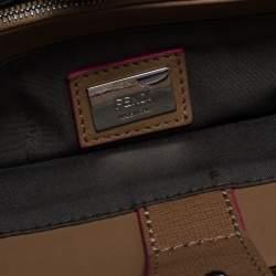 Fendi Beige Leather Mini 2Jours Tote