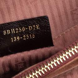 Fendi Old Rose Leather Medium 2Jours Tote