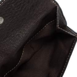 محفظة فندي كانفاس توباكو زوكا وجلد مضغوطة