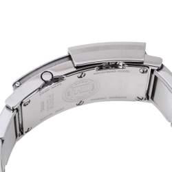 Fendi White/Black Stainless Steel Secret 5500L Women's Wristwatch 20 mm