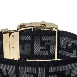 Fendi Cream Gold Tone Stainless Steel 1130L Zip Code Women Wristwatch 38MM