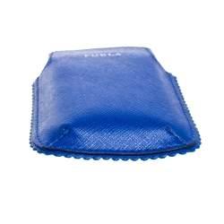 Furla Blue Leather Phone Case