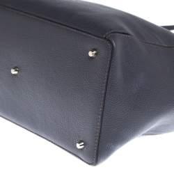 Furla Grey Leather Tote