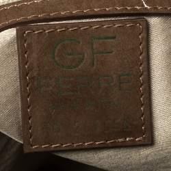 Gianfranco Ferre Green Patent Leather Satchel