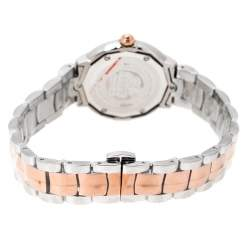 Gianfranco Ferre Mother of Pearl Two-Tone Stainless Steel Women's Wristwatch 33 mm