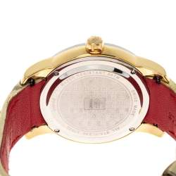 GF Ferre Gold Two Tone Stainless Steel Diamond 9065B Women's Wristwatch 40 MM