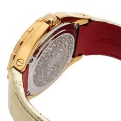 Gianfranco Ferre Gold Tone Stainless Steel 9040J Limited Edition Women's Wristwatch 46 MM
