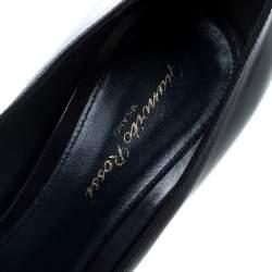 Gianvito Rossi Purple Leather Platform Pumps Size 38