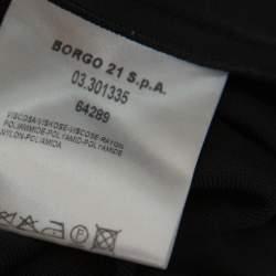 Giorgio Armani Black Knit Leggings S