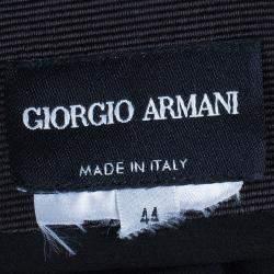 Giorgio Armani Black Velvet Skirt M