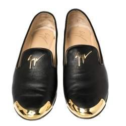 حذاء لوفرز جوسيبي زانوتي داليا جلد أسود مقاس 38