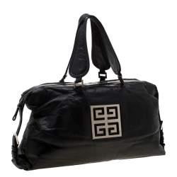 Givenchy Black Leather Nightingale Satchel