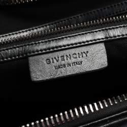 Givenchy Black Leather Medium Antigona Satchel