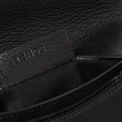 Givenchy Black Leather Small Antigona Clutch