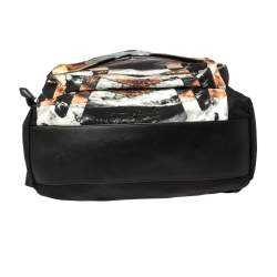 Givenchy Black Sunset Print Nylon Backpack
