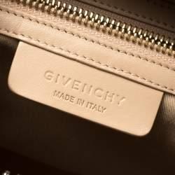 Givenchy Nude Nubuck Medium Antigona Satchel