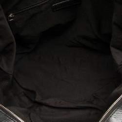 Givenchy Black Studded Nylon Nightingale bag