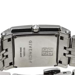 Givenchy Black PVD Coated Stainless Steel G.V. 5262L Women's Wristwatch 32 mm