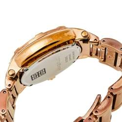Givenchy White Bronze Tone Stainless Steel GV.5202L Women's Wristwatch 36 mm