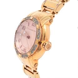 Givenchy Rose Gold Plated Stainless Steel Diamonds GV.5202L Women's Wristwatch 36 mm