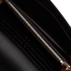 Goyard Black Goyardine Coated Canvas Varenne Continental Wallet
