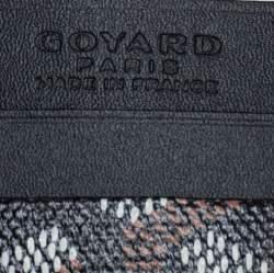 Goyard Black Goyardine Coated Canvas and Leather Saint Sulpice Card Holder