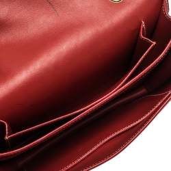 Goyard Red Goyardine Coated Canvas 223 PM Bag
