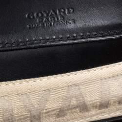 Goyard Black Goyardine Coated Canvas and Leather Okinawa PM Tote