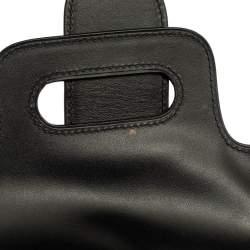 Goyard Black Leather PM Saigon Bag