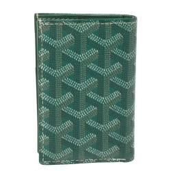 محفظة بطاقات جويارد سان مارك كانفاس جوياردين أخضر مقوى