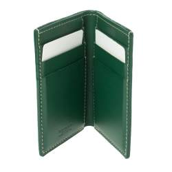 Goyard Green Goyardine Coated Canvas St. Marc Card Holder