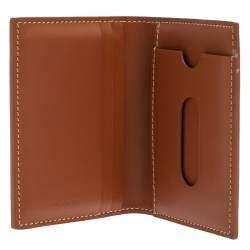 Goyard Brown Goyardine Business Card Holder
