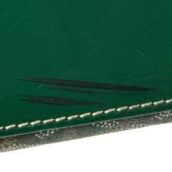 Goyard Green Goyardine Coated Canvas and Leather Okinawa GM Tote