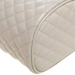 Gucci White Quilted Leather Trapuntata Convertible Belt Bag