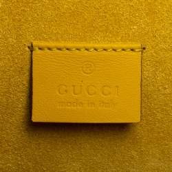 Gucci Beige GG Supreme Canvas and Suede Small Dionysus Embroidered Crystal Bow Shoulder Bag