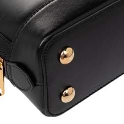Gucci Black Leather Horsebit Shoulder Bag